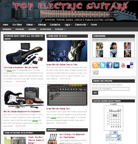 Online Guitar Store